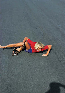 This shot shows you just how limber Jay was as a young skater!