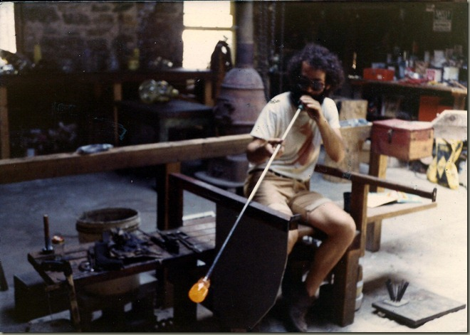 glassblowing at mineral point