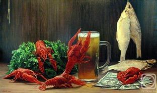 Вобла, раки, пиво