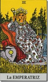 emperatriz carta del tarot