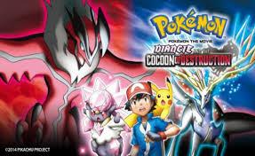Hình Ảnh Pokemon Movie 17: Sự Hủy Diệt Từ Chiếc Kén Và Diancie