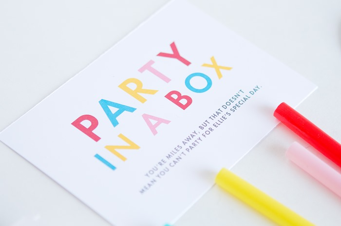 DIY Party in a Box! | Zurcher Co | He + I = Party of 5 on birthday party box, party in a cube, party favors product, gift box, party invitations, gender reveal balloon box, roses delivered in box, pizza box, family gets rid of box, tea party box, girl locked in box, picking up a box, burn box, party in a sandbox, candy box, party in a beach, shit box, paper box, bachelorette party box, party in a tank,