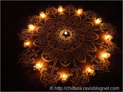 Deepavali_Flower_Rangoli_Lights_2