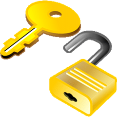 Registration (key and lock)