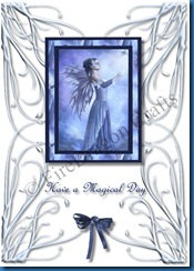 Spellbound Fairy1 Birthday card front CW