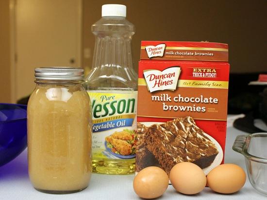 brownie-mix-applesauce