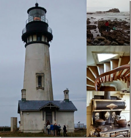 Yaquina Lighthouse Collage