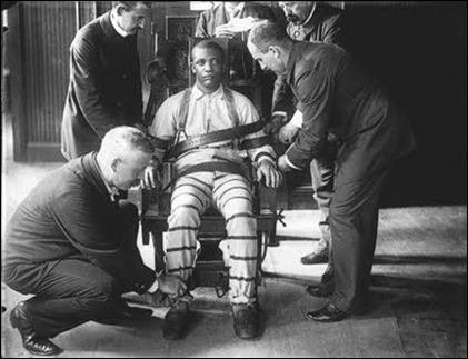 pena de morte cadeira elétrica