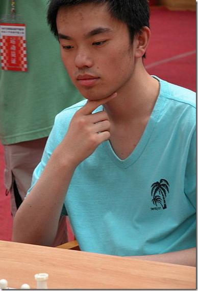 GM Zhou Jianchao, CHN