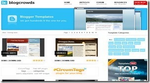 top 20 free blogger templates sites 08 Blogcrowds