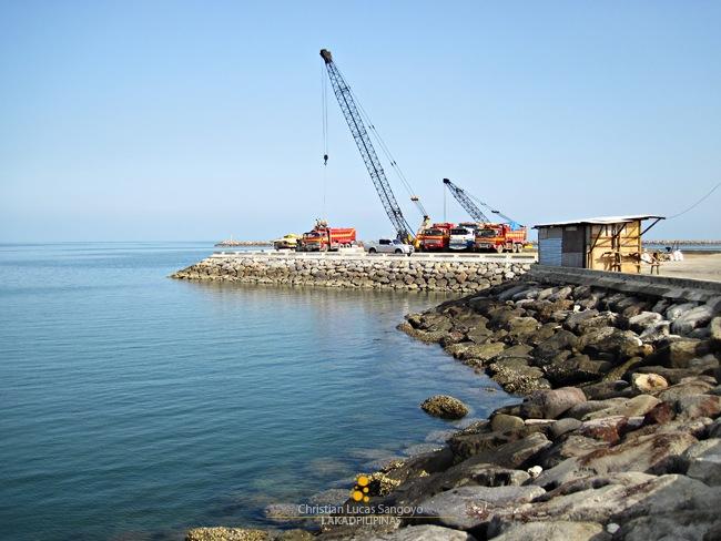The Azure Waters of Dalahican Port