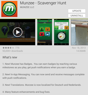 Munzee21Android