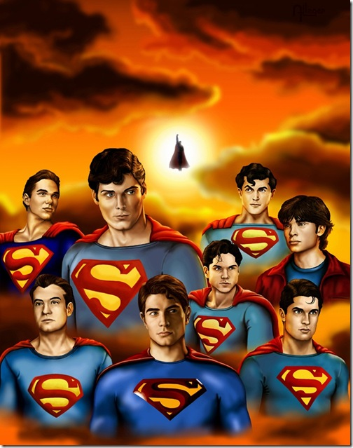Superman,Jerry Siegel,Joe Shuster,Kal-El,Clark Joseph Kent,Christopher Reeve (100)