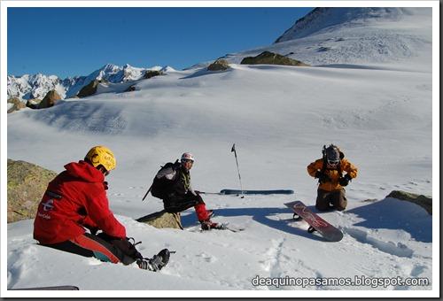 Circo Sur del Midi d'Ossau con esquis (Portalet, Pirineo Frances) (Fon) 249