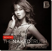 Bench TheNAKEDTruth - Kathryn Bernardo