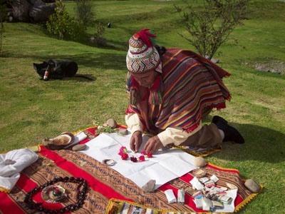 Ritual de ofrenda a la Pachamama