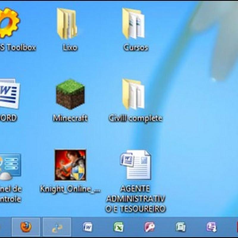 Windows 8 – Como acessar o Prompt de Comando, Executar e outros recursos avançados