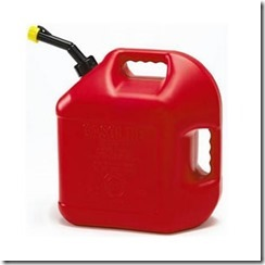 gasoline-tank red