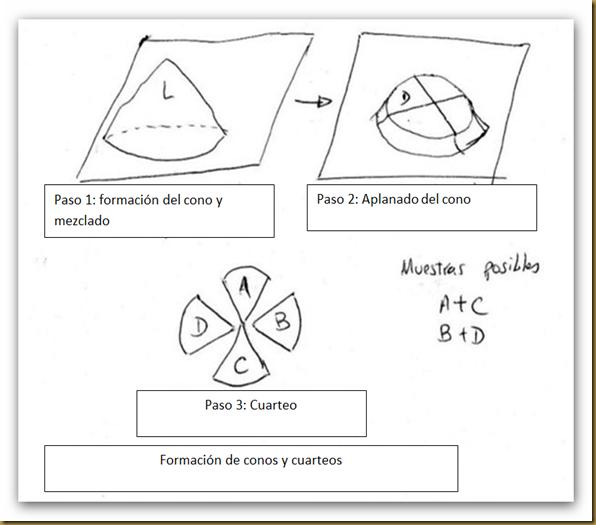 Formación de conos y cuarteo