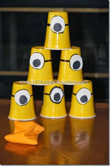 Despicable Me Family Fun Night Activity
