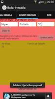 Screenshot of BallariHesabla