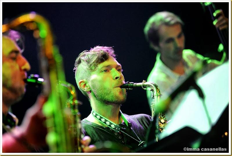 """José Manuel Leal """"Tete"""" amb Free Art Ensemble, Auditori l'Atlàntida, Vic 2013"""