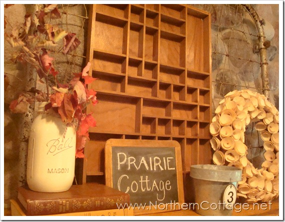 cozy mantel @NorthernCottage.net