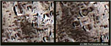 Iapetus lua ou nave