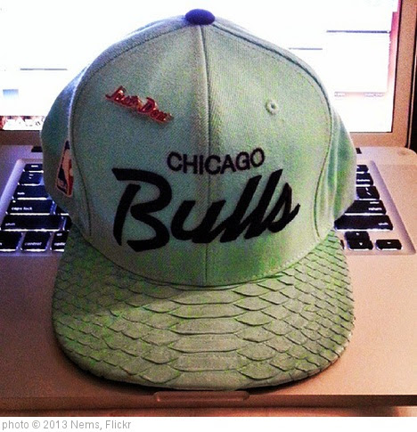 'Chicago Bulls UFO Mint. Friday the 13th @givenchydonc Thank You.' photo (c) 2013, Nems - license: https://creativecommons.org/licenses/by/2.0/