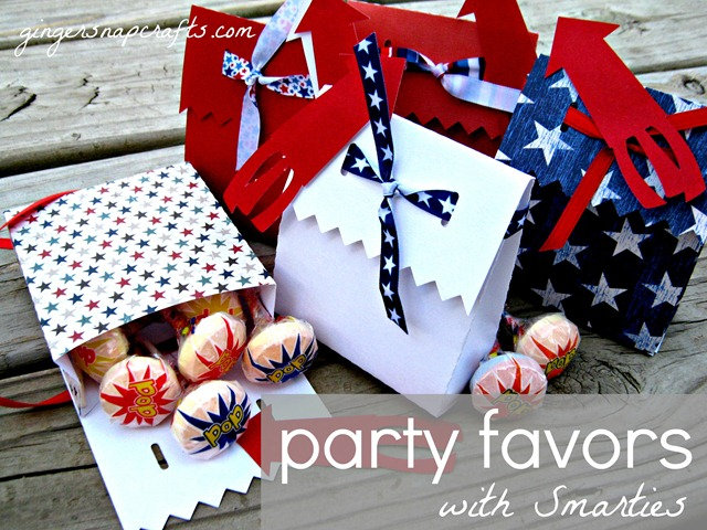 4th of july party favors smarties ginger snap crafts 4th of july party favors with pop iamasmartie
