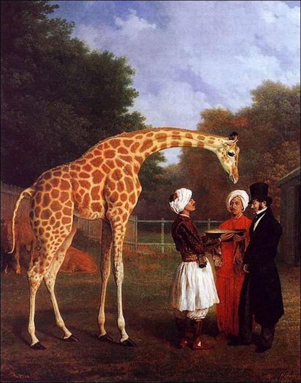 Agasse, La girafe nubienne 1827