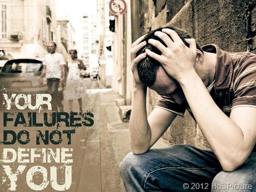 Kegagalan, merupakan hal yang wajar dialami setiap orang, tapi kurang wajar bila sering dialami oleh seseorang dan lebih tidak wajar lagi bila tidak pernah dialami seseorang