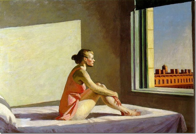 Edward_Hopper_Morning_Sun_1952