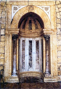 Mihrab of the Madrasa al-Firdaus in Aleppo.