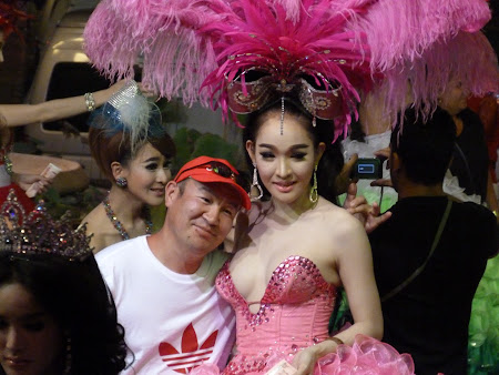 Transsexuali Thailanda: poza cu o ladyboy
