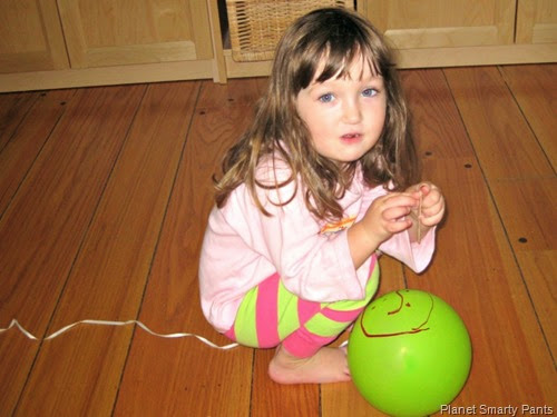 Playing-With-Pet-Balloon