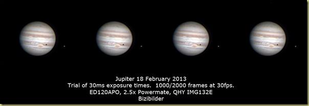 18 February 2013 Jupiter Trial