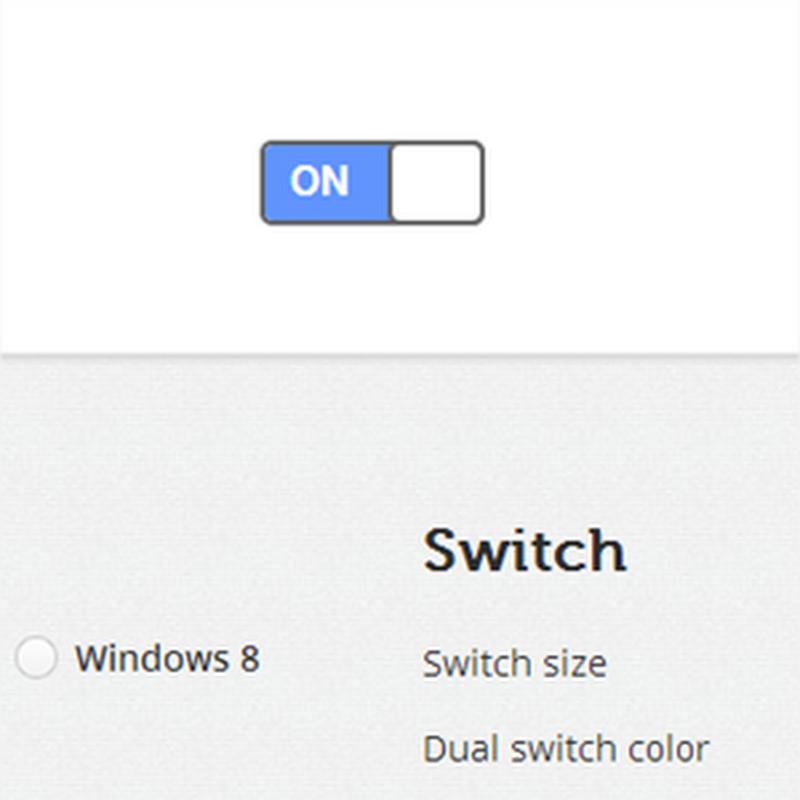 On/Off, un sitio para poder crear y personalizar nuestro propio switch con HTML y CSS