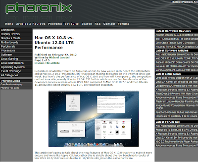 Mac Osx 10.8 vs Ubuntu 12.04