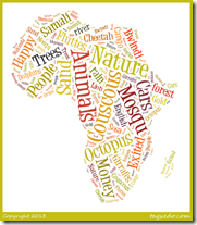 Use word clouds as a way to review what your children know about a topic.  Ask them to brainstorm twenty words on a set topic and make those words into a word cloud using Wordle or Tagxedo