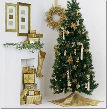 Como Decorar una Sala de Navidad1