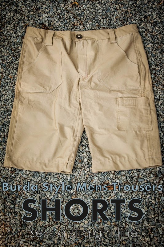 burda mens trouser shorts sew a straight line-1-2