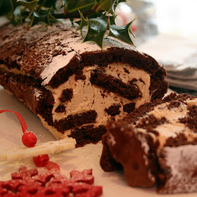 Chestnut Cream Roulade