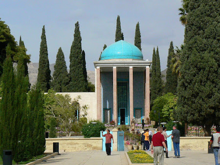 Things to see in Shiraz: The Mausoleum of Sa'di
