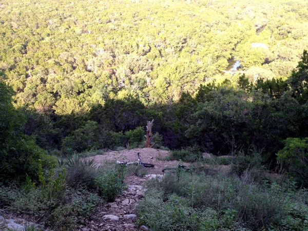 Mountain biking in Austin Texas