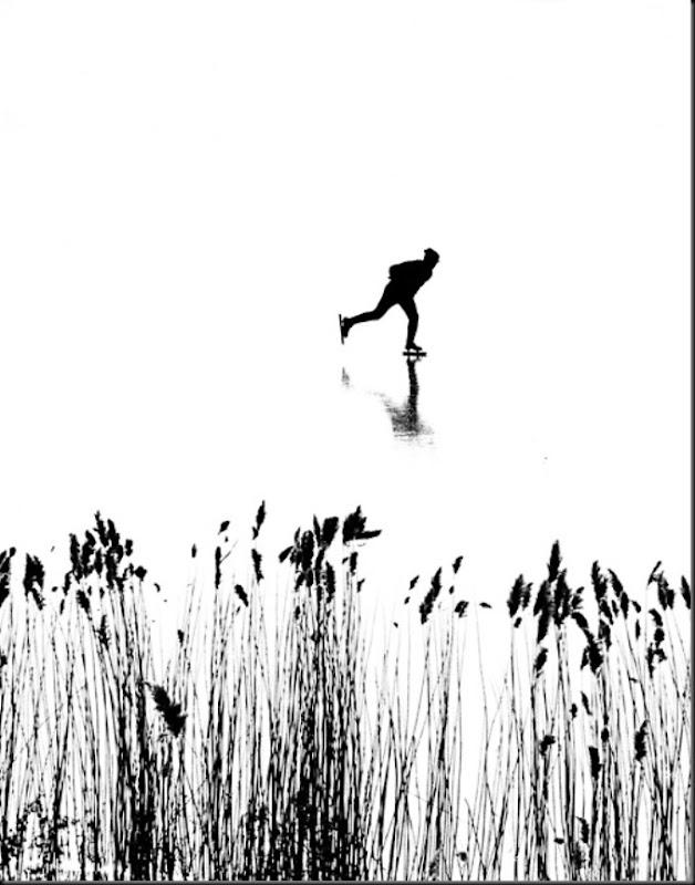 Aart Klein, Ice Skater, 1969