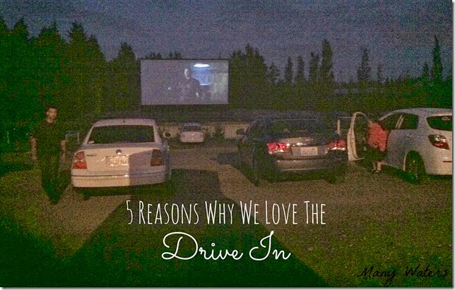 Many Waters Five Reasons Why We Love The Drive In