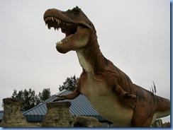 1770 Alberta corner Hwy 4 South & Hwy 501 East - Milk River Visitor Centre - 36-foot tall tyrannosaurus-rex
