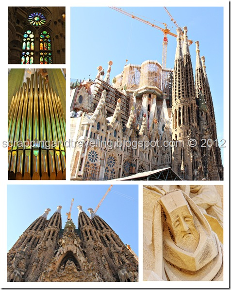 Sagrada Familia Collage