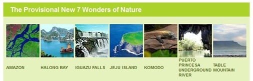 new7wonder of nature